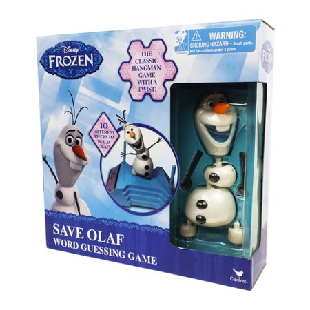 Disney Frozen Save Olaf Word Guessing Game - Games Frozen