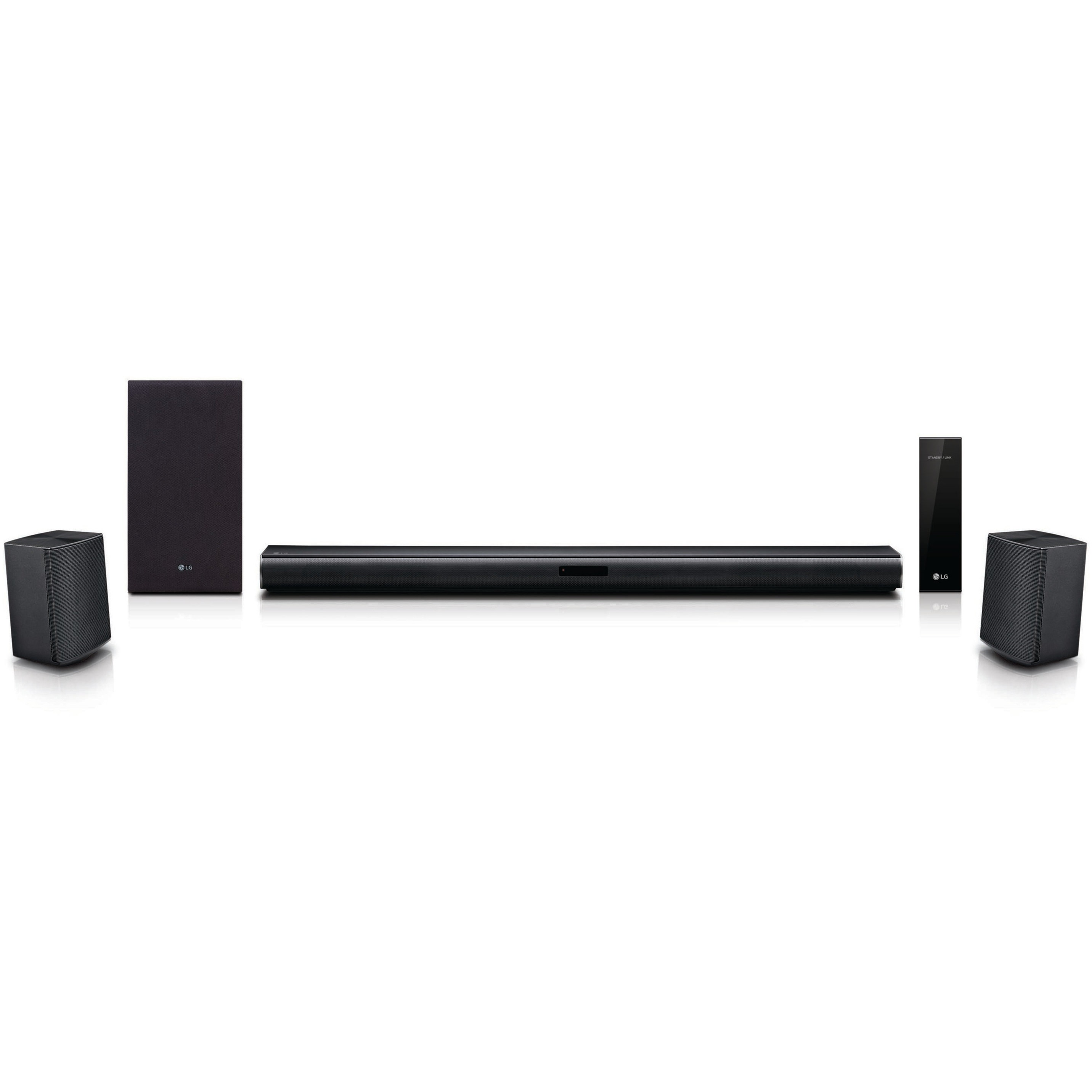 LG SJ4R 4.1 ch Sound Bar Surround System with Wireless Subwoofer ...