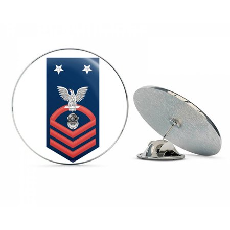 US Navy Master Chief Red E-9 Navy Diver ND  Military Veteran USA Pride Served Gift Metal 0.75