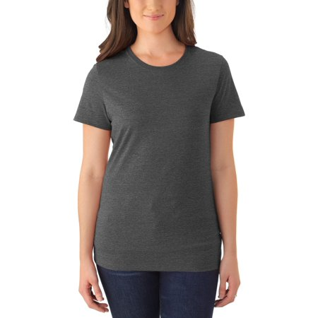 Ladies' Soft Tri-blend Short Sleeve Crewneck T Shirt, 2