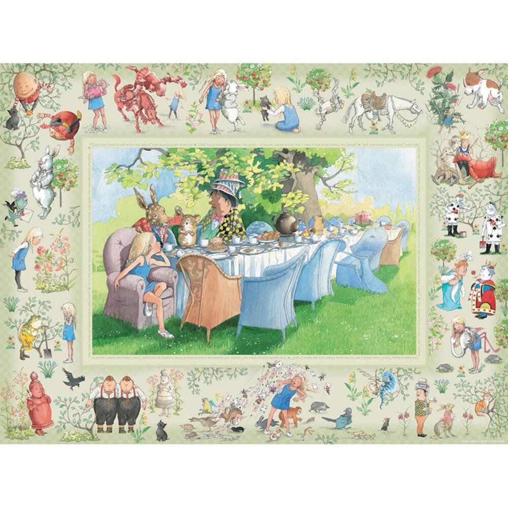 Outset Media Alice's Adventures in Wonderland Jigsaw Puzzle