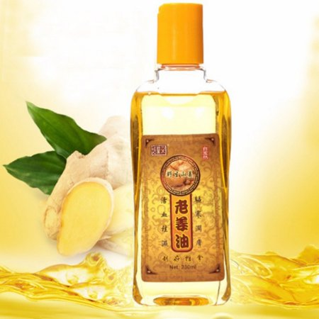 New 230ml Natural Plant Lymphatic Drainage Ginger Oils,Natural Anti Aging Oil Body Massage Pure (Smart Profile Uplift Anti Aging Massage And Cleansing)