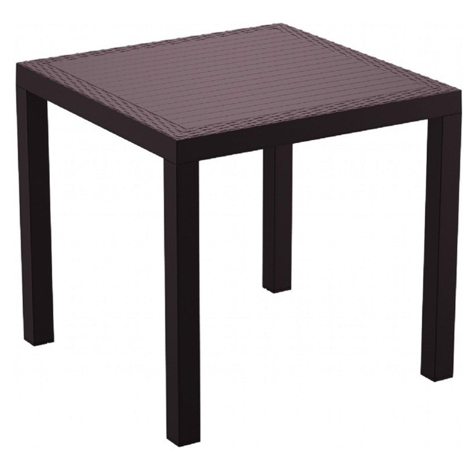 Compamia Orlando Resin Wicker Square Patio Dining Table by Compamia