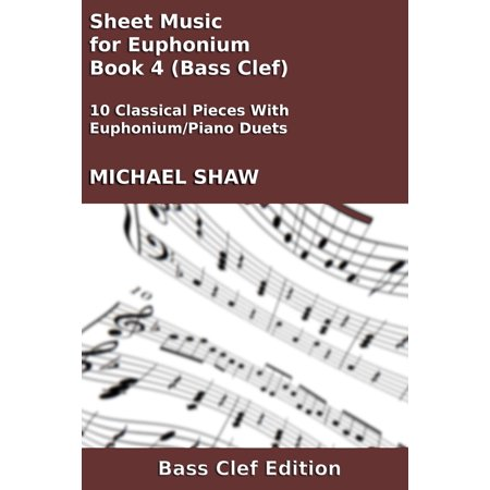 Sheet Music for Euphonium - Book 4 (Bass Clef) - eBook