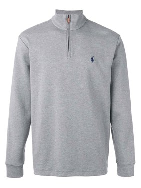 Polo Ralph Lauren Men's Big & Tall Half-Zip Pullover Sweater 2XB Andover Grey