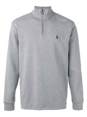 Polo Ralph Lauren Big & Tall Half Zip Pullover Sweater Andover Grey Heather
