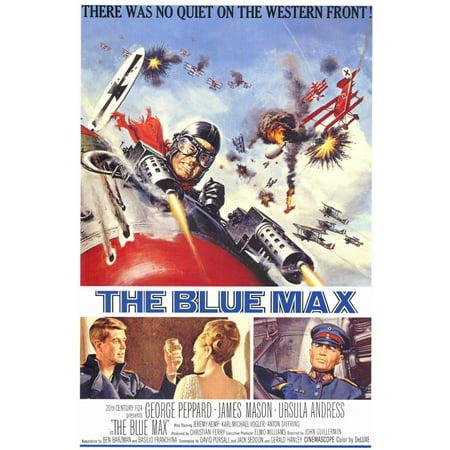 The Blue Max (1966) 11x17 Movie Poster - 1966 Batman Movie Poster