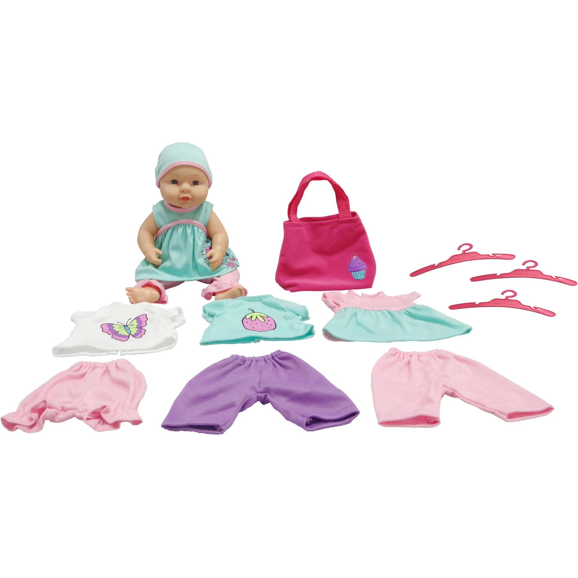 My Sweet Love Baby Doll with Wardrobe Set, Caucasian