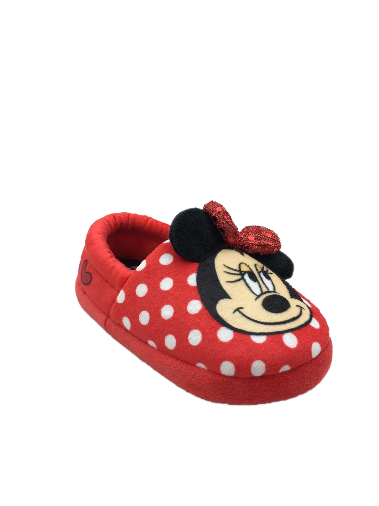 24M Minnie Mouse Ap Inf Fuzzy Babba Slippers 12M