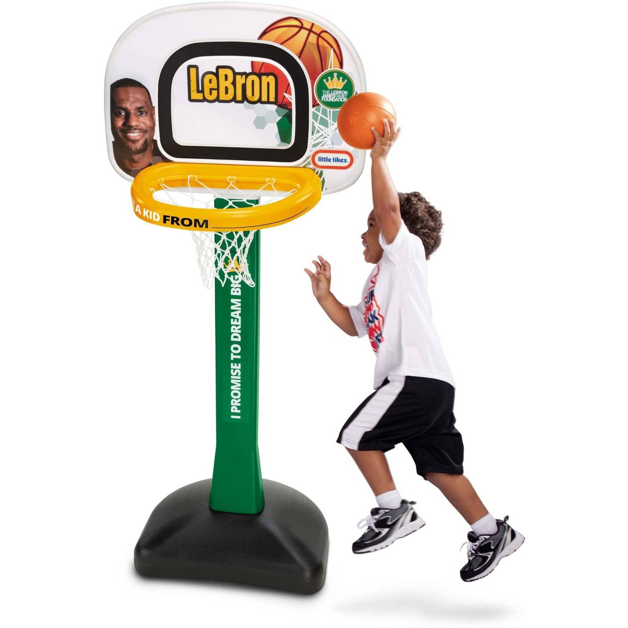 Little Tikes LeBron James Family Foundation Mini Hoop Basketball Set