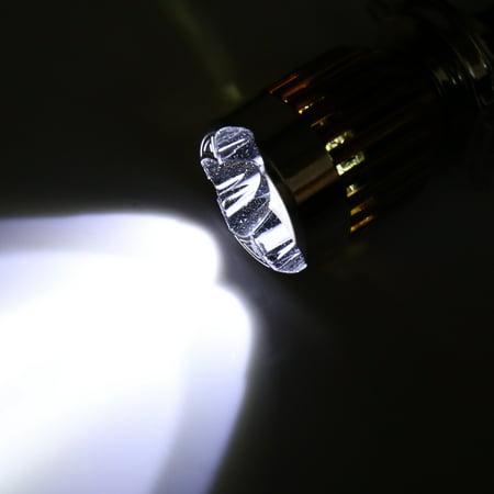 3H4 9W LED Projecteur ampoule lampe en métal aluminium pour voiture électrique Moto - image 1 de 4