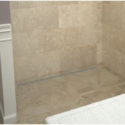 Tile Redi Shower Base with Drain Grate