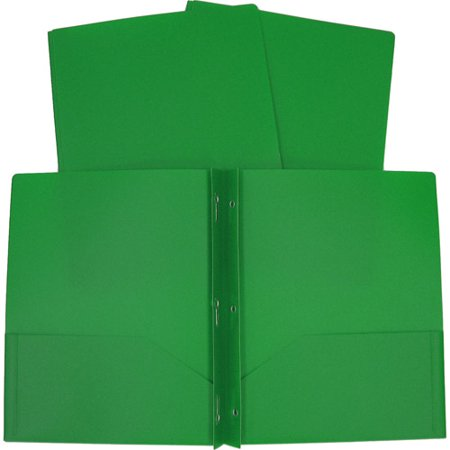 3-Prong Poly Folder, Available in Multiple Colors ...