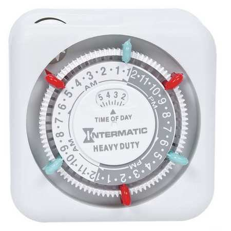 Intermatic TN311 15 Amp Heavy Duty Grounded Timer ()