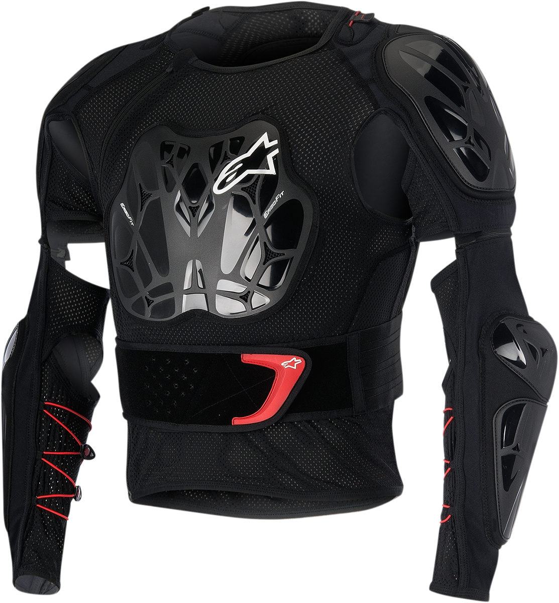 Alpinestars Bionic Tech Jacket Black/Red XL  6506516-123-XL