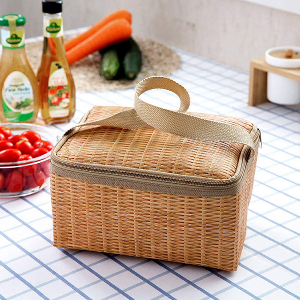 1PC Thermal Insulated Lunch Box Tote