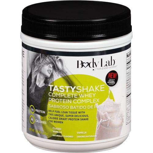 Body Lab TastyShake Complete Whey Protein Complex Classic Vanilla Shake Mix, 14.8 oz