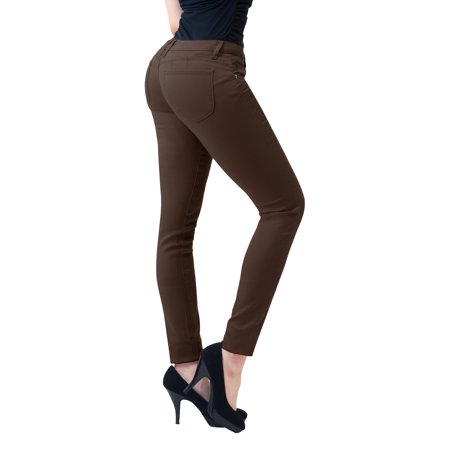 903838f2d6 Hybrid   Company - HyBrid   Company Junior Butt Lift Super Comfy Stretch  Denim Skinny Yoga Jeans - Walmart.com