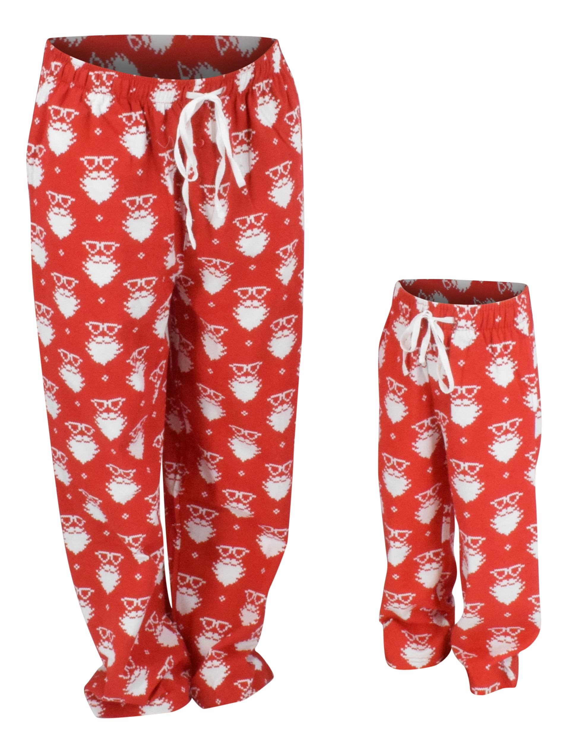 Boys Christmas Santa Matching Family Pajama Pants (10/12)