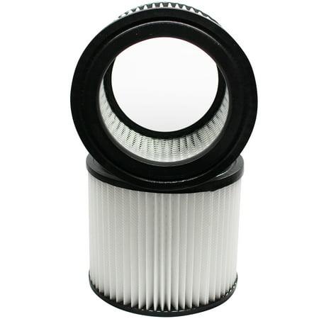 2-Pack Replacement Shop-Vac Lowe's Wet/Dry Vac H87S550A Vacuum Cartridge Filter  - Compatible Shop-Vac 90398 Cartridge Filter
