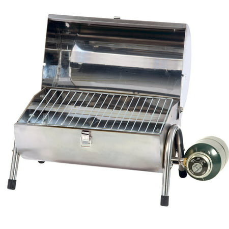Stansport Stainless Steel Gas Barbeque Grill (Best Stainless Steel Bbq)