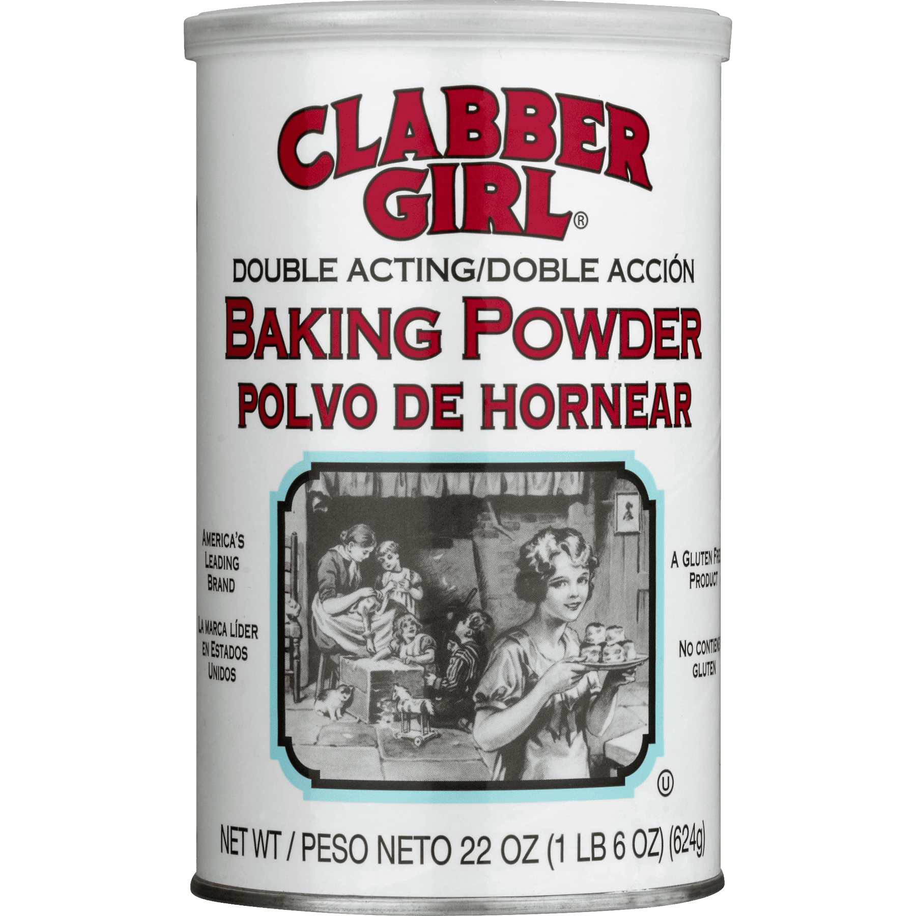 "CLABBER GIRL BAKING POWDER 6/"" x 18/"" ALUMINUM Sign"