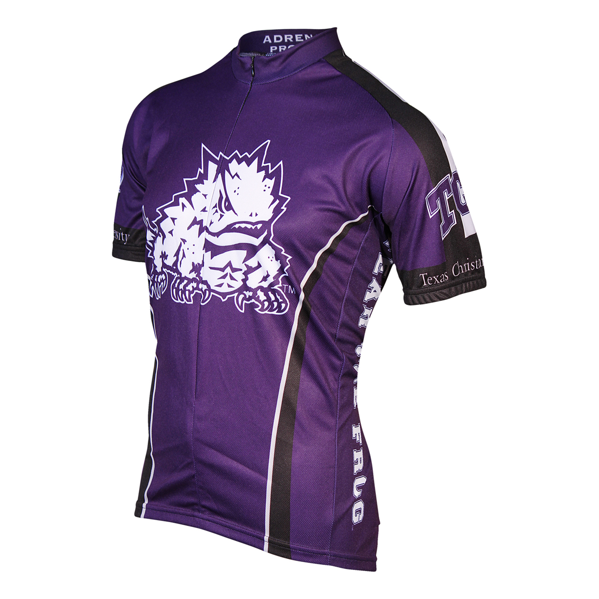 Adrenaline Promotions Texas Christian University Horned Frog Cycling Jersey