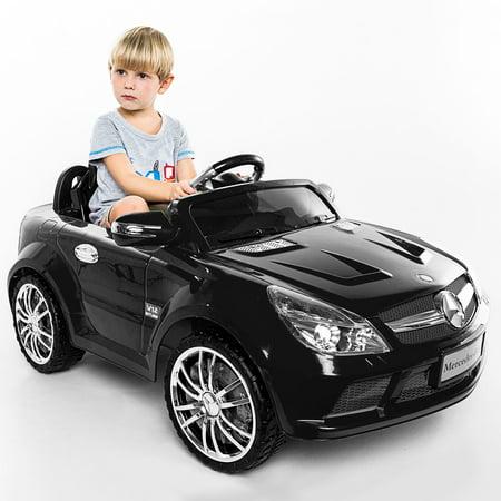 Costway 12v mercedes benz sl65 electric kids ride on car for Kids mercedes benz car
