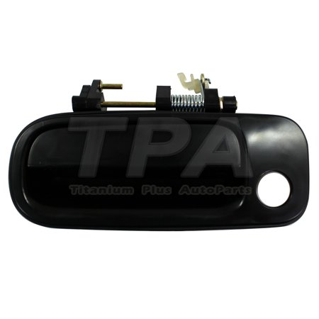 1992,1993,1994,1995,1996 Toyota Camry Front,Left DOOR OUTER HANDLE SMOOTH BLACK DX MODEL