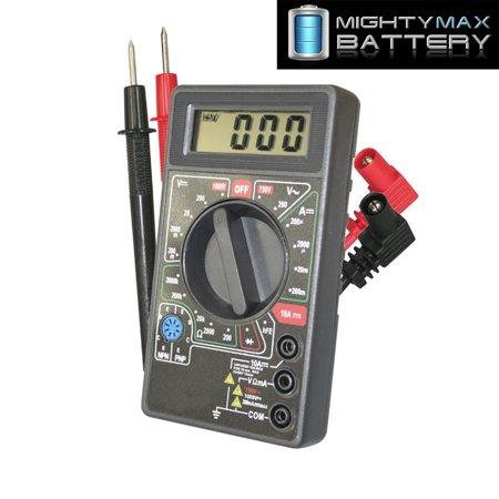 Battery Impedance Tester - DIGITAL LCD MULTI METER BATTERY TESTER