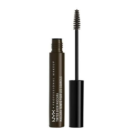 NYX Professional Makeup Tinted Brow Mascara, Black