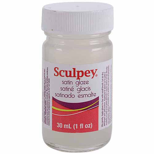 Polyform Sculpey Glaze, Satin, 1 oz