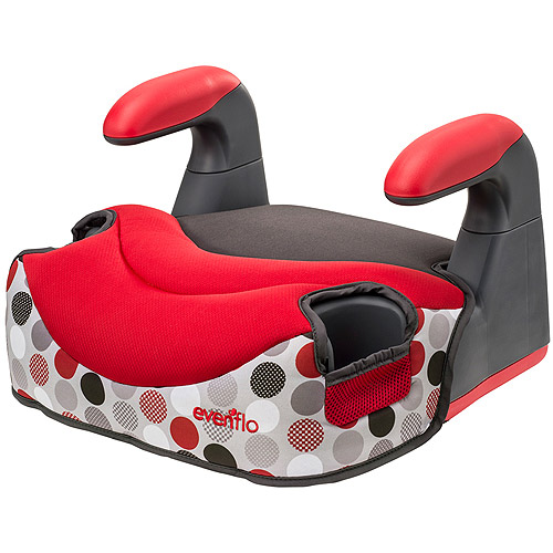 Evenflo Big Kid Elite Backless Booster Car Seat, Brayden