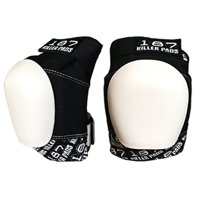 187 Killer safety gear - pro knee pads black / white (X-LARGE)