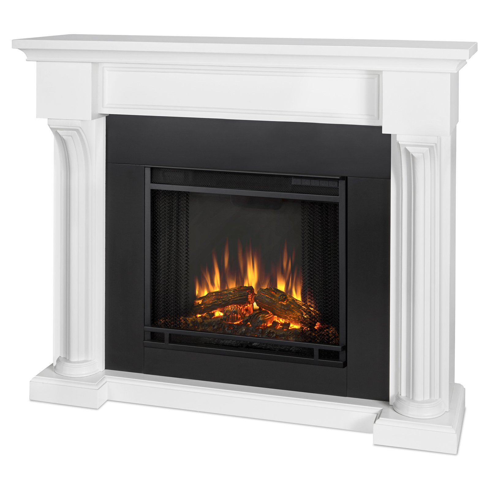 real flame fresno ventless gel fireplace dark walnut walmart com