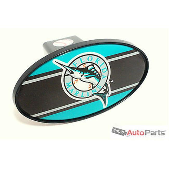 SmallAutoParts Mlb Tow Hitch Cover - Florida Marlins