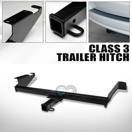 Velocity Concepts Class 3 Matte Black Trailer Hitch Receiver Bumper Tow 2