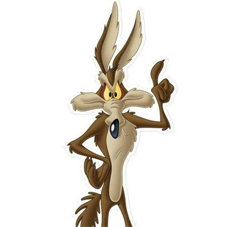 Star Cutouts SC693 Wile E Coyote Looney Tunes Cardboard
