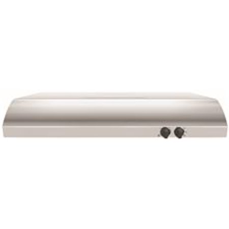 Whirlpool 30-Inch 2-Speed Convertible Built-In Range Hood With Vent, Stainless Steel, 225 Cfm, 120