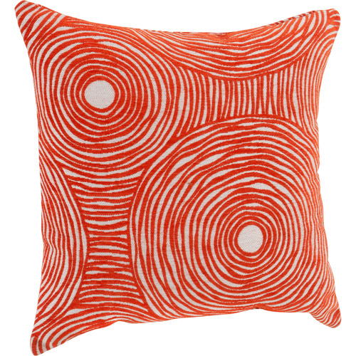 """Better Homes and Gardens Chenille Swirls Decorative Throw Pillow, 18"""" x 18"""