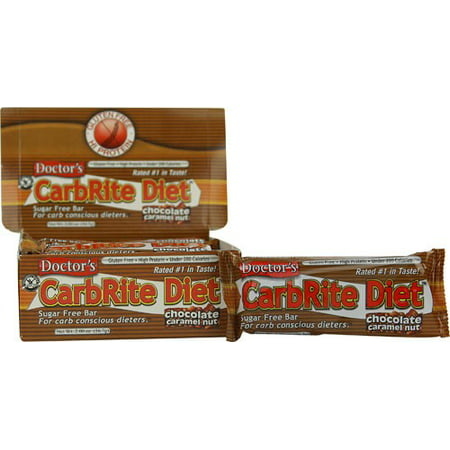 Doctor's CarbRite Diet Bars, Chocolate Caramel Nut, 2 Oz ()