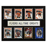 C&I Collectables NHL 12x15 Philadelphia Flyers All-Time Greats Plaque