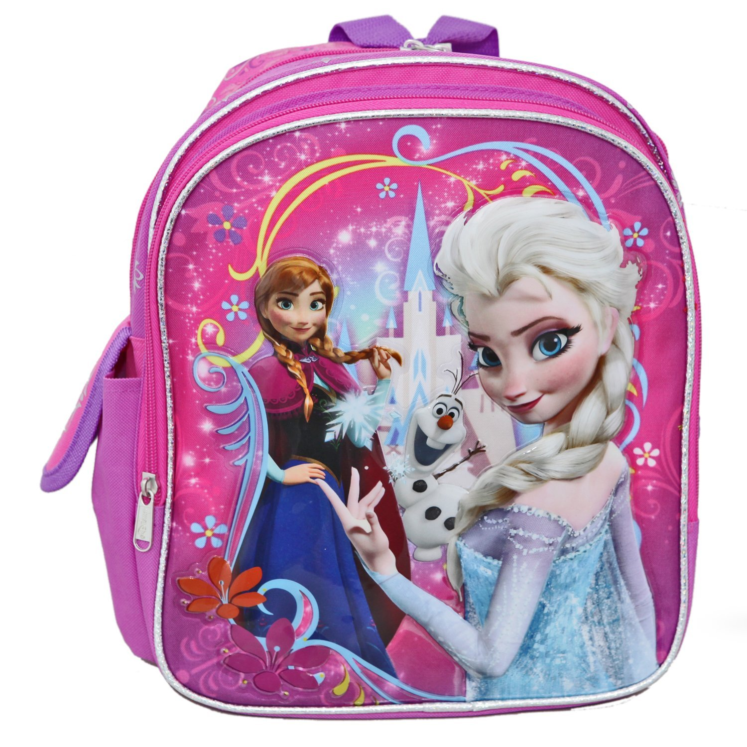 Small Backpack - Disney - Frozen Princess Elsa Anna Olaf School Bag New 639723