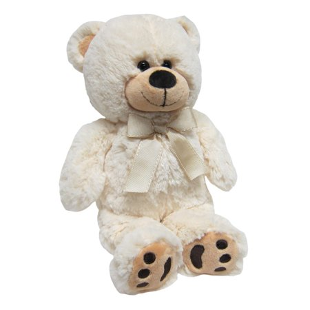 Joon Mini Teddy Bear, Cream, 13 Inches