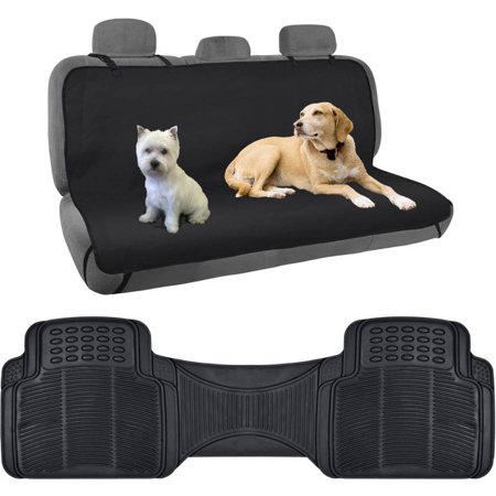 BDK TravelDog Car Seat Covers For Rear Bench 100 Percent