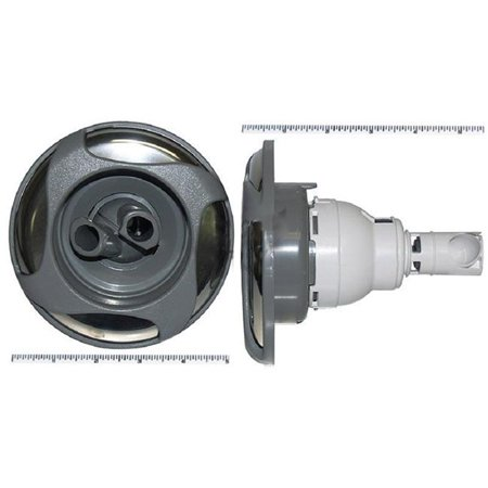 5 in. Power Storm Dual Rotating Swirl Jet Internal, Gray & Stainless Steel