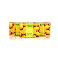 Vaadi Herbals Refreshing Soap Lemon & Basil 3x75g