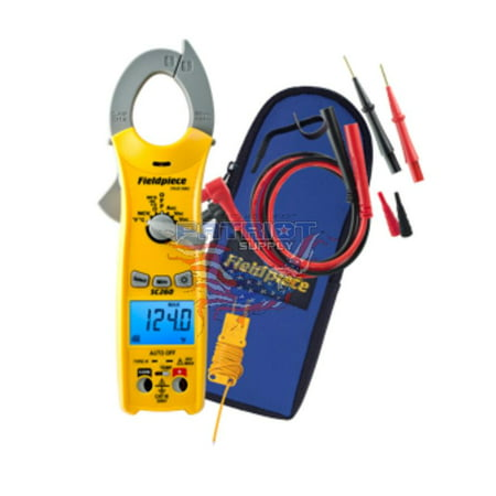Wireless True Rms Multimeter (Fieldpiece SC260 Compact Clamp On Multimeter With True RMS )