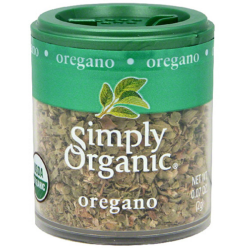 ***Discontinued***Simply Organic Oregano, .07 oz (Pack of 6)