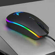 ZERODATE S900 Computer Gaming Mouse 1600DPI 4 Buttons RGB LED Backlight Optical Ergonomic Mouse USB Wired Mice for PC
